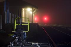 Bomen Train Station_0002 (_Scorps_) Tags: longexposure winter station fog train canon bomen moody railway australia nsw 62 waggawagga 450d copyrightpaulwutzke abcopen:project=winter