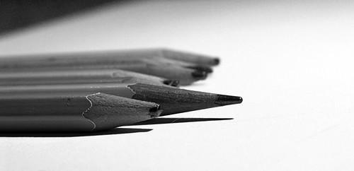 Pencils bw