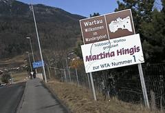 Martina Hingis!