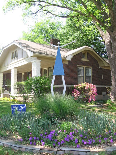 Memphis Bungalows: Bungalow and Art in Binghamton by gatesofmemphis, on Flickr