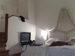 Habitacin en el hotel Puerta de la Luna (RAMONRAMON) Tags: baeza