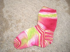 Watermelon sock two -left side