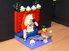 Ultimate Torture (Oky - Space Ranger) Tags: lego contest torture chamber jar karaoke wan build entry binks kenobi oky eurobricks