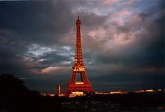 eiffel tower - 527 days before the millenium