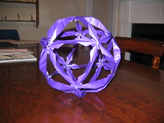 Purple Sham Kusudama (The Seiuchi) Tags: sham arabesque kusudama