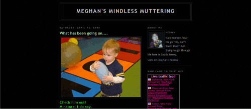 Meghan's Mindless Mutterings