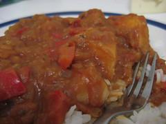 Capsicum & Potato Stew