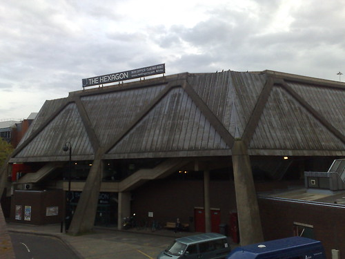 Hexagon Theatre Reading To Be Demolished.