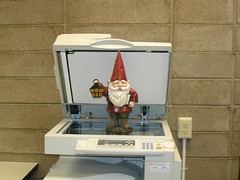 Gnome at Photocopier