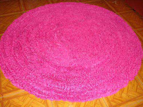 Tapete Rosa Pink Redondo – Reiquest com ~ Quarto Rosa Com Oncinha
