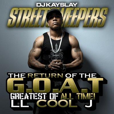 ll cool j return of the goat mixtape cover