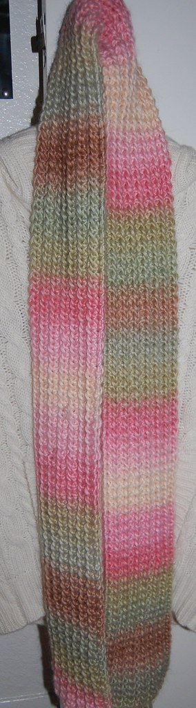 spumoni scarf finished!