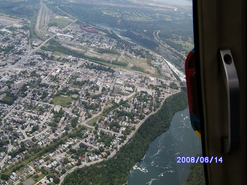 Niagara from helicopter