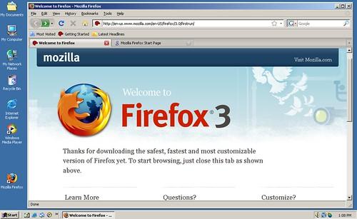 Firefox 3 on W2K