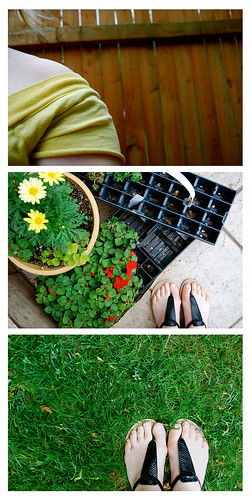 in the garden {self portrait series}