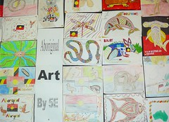 NAIDOC artwork from 5E @ Penrith PS