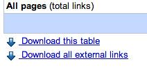 Google Webmaster Tools Download Link