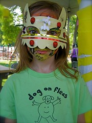 Dog on Fleas Fan at the Clearwater Music Festival