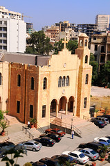 Opposite faculty of medicine (Johanna Mifsud photography) Tags: university catholic middleeast beirut jesuit easternchristianity universitesaintjosephbeirut johannamifsudmalta johannamifsud churchesinlebanon christiandevotioninthemiddleeast christiantouristattractionsinlebanon greekmelkitechurchbeirut
