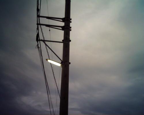 【写真】VQ1005で撮影した電灯