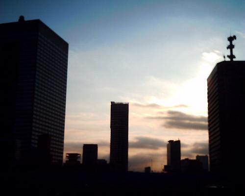 【写真】VQ1005で撮影した浜松町のビル群