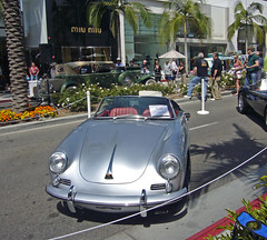 Concours On Rodeo Drive 2008 - Porsche 356B Super 90 (lucre101) Tags: california classic car silver drive losangeles wheels super historic hills porsche rodeo beverlyhills beverly expensive 90 couture 1962 automobiles carshow celebrating haute rodeodrive 356b worldcars concoursonrodeodrive2008