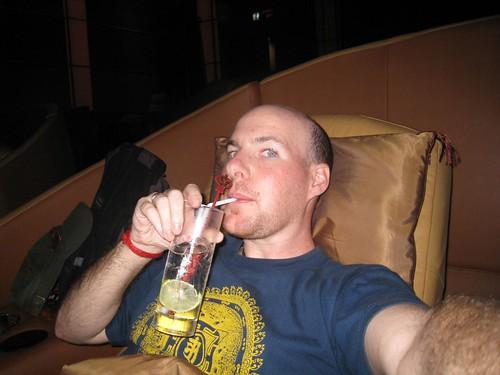 Big pimpin' in the VIP theater