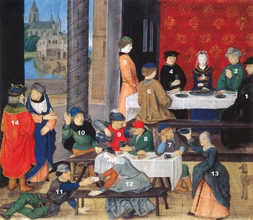 Ann-Marie Lequesne, At Table