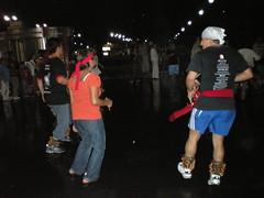 (sftrajan) Tags: rain mxico night mexico abend noche mexicocity df dancers saturdaynight mexique nuit ciudaddemexico mexiko distritofederal danzantes messico zcalo ciudaddemxico aztecdancers chilangos plazadelaconstitucion chilangolandia defeo