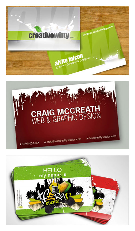 Cooler Business Cards
