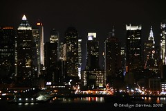 Project 366 - 2008 195/366 (CarolynSerrano) Tags: newyorkcity nightphotography skyline chryslerbuilding 2008 leapyear 366 inspiredbylove photographicjournal project366 dayonehundredandninetyfive 195366 2008yip project3662008195366