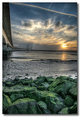 Wales beckons (Roger.C) Tags: bridge sunset sky seascape canon river soe hdr supershot photomatrix golddragon platinumphoto goldstaraward