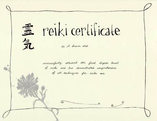 reiki certificates getting a free reiki certificate is a wonderful