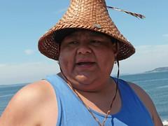 Joe from Intertribal Canoe Journey at Alki