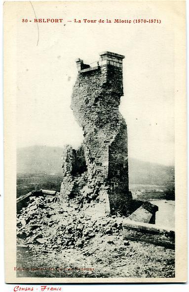 La Tour de la Miotte (1870-1871) - BELFORT