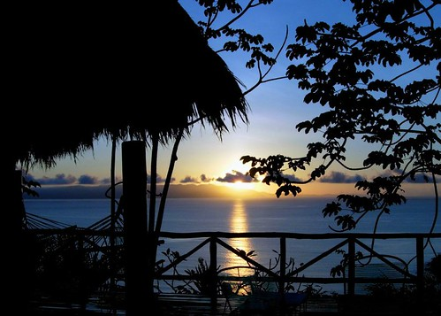 Dawn in the remote wilds of Costa Rica