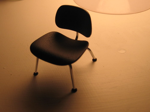 miniature Eames chair!