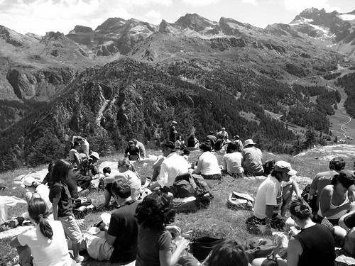 Picnic in alta quota.