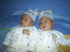 Twin Mujahid (MuhlisMida) Tags: children beloved my
