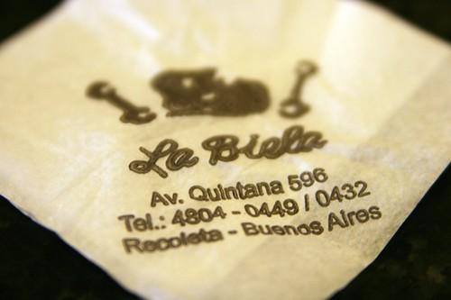La Biela: Buenos Aires