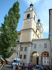 Catedral de San Nicolás-Liubliana-Eslovenia 01 (Rafael Gomez - http://micamara.es) Tags: church de san cathedral catedral viajes slovenia nicolas ljubljana slovenija slowenien minster eslovenia kirk slovenie slovenije