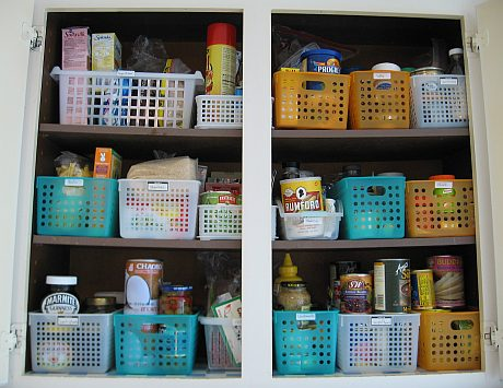 After: Pantry 2 organized