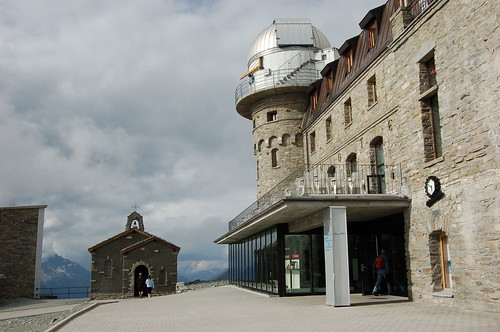 Gornergrat展望台とホテル