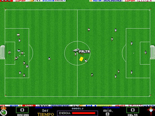 Simulador de fútbol de PC Fútbol 2.0