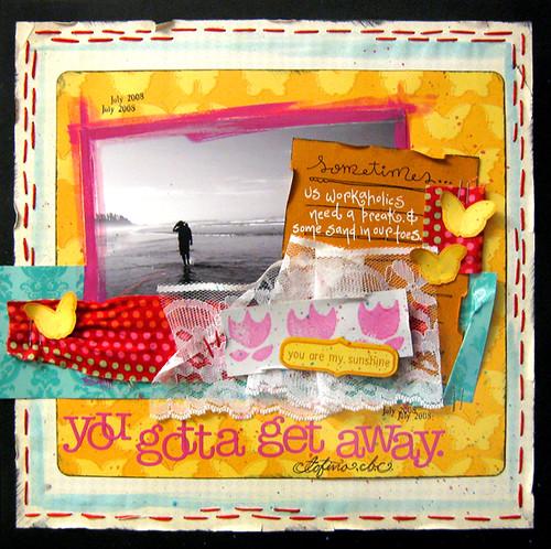 Get Away - Red Velvet August Kit
