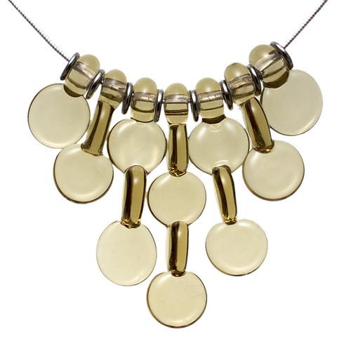 Golden Interlaced Droplet Discs 7