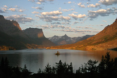 Sunrise - Wild Goose Island (BigSkyKatie) Tags: park morning wild sun lake mountains clouds sunrise rockies island rising montana mary rocky goose glacier national glaciernationalpark wilderness stmarylake pristine bigskycountry naturesfinest subalpine wildgooseisland theunforgettablepictures goldstaraward absolutelystunningscapes katielasallelowery