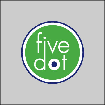 Five Dot Design web logo