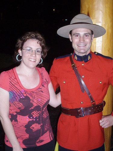 Kerrina and her Mountie