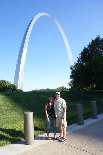 Dan and Brittany in STL